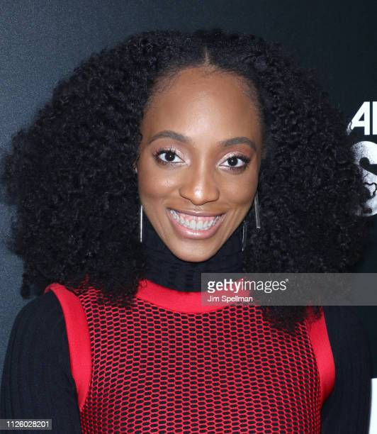 Actress Iantha Richardson attends the BET's American Soul New York premiere at New World Stages on January 29 2019 in New York City