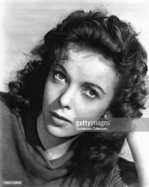 Actress Ida Lupino in a scene from the movie Moontide