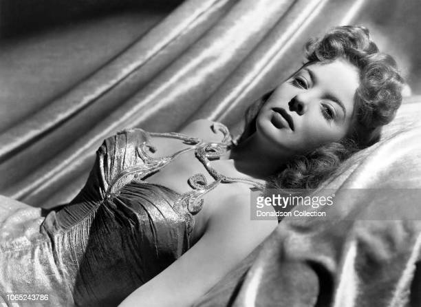 Actress Ida Lupino in a scene from the movie The Man I Love
