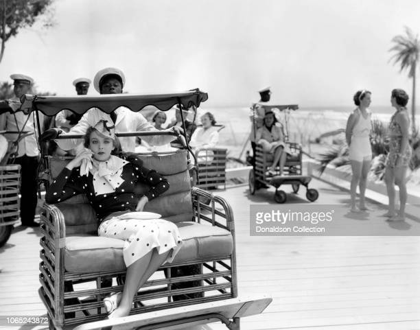 Actress Ida Lupino in a scene from the movie Yours for the Asking