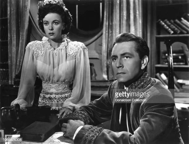 Actress Ida Lupino Paul Henreid in a scene from the movie In Our Time