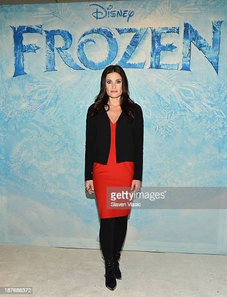 Actress Idina Menzel attends 'Frozen' New York Special Screening at AMC Lincoln Square Theater on November 11 2013 in New York City