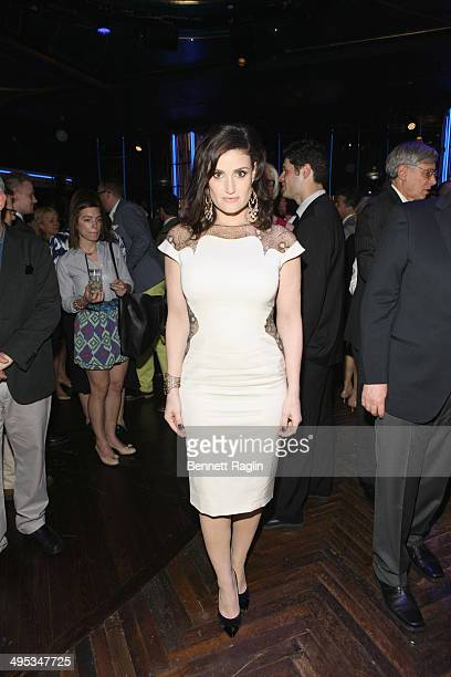 Actress Idina Menzel attends the 2014 Tony Honors Cocktail Party at the Paramount Hotel on June 2 2014 in New York City
