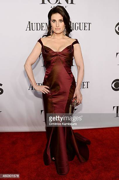 Actress Idina Menzel attends the 68th Annual Tony Awards at Radio City Music Hall on June 8 2014 in New York City