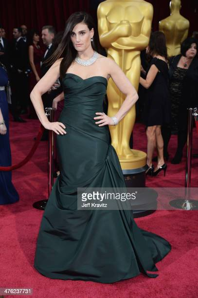 Actress Idina Menzel attends the Oscars held at Hollywood & Highland Center on March 2, 2014 in Hollywood, California.