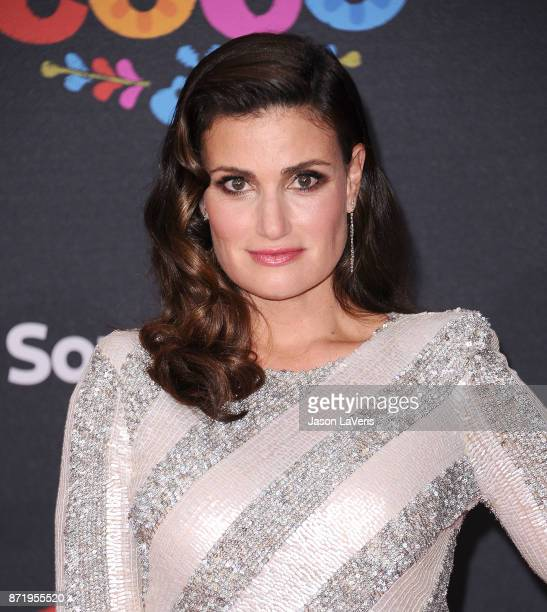 Actress Idina Menzel attends the premiere of 'Coco' at El Capitan Theatre on November 8 2017 in Los Angeles California
