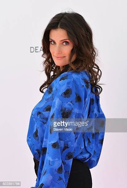 Actress Idina Menzel attends Tribeca Talks Storytellers Idina Menzel at SVA Theatre 1 on April 18 2016 in New York City