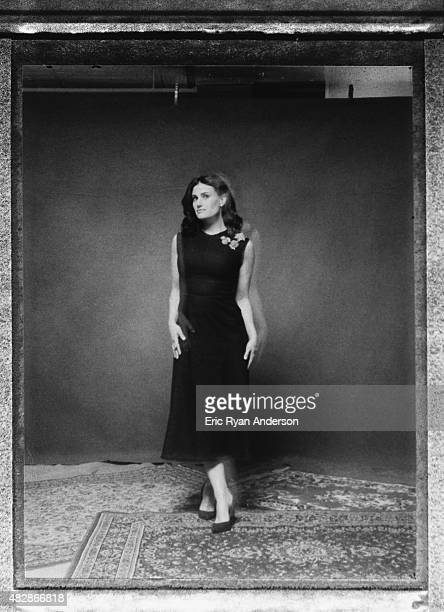 Actress Idina Menzelis photographed for The Hollywood Reporter on April 1 2015 in New York City