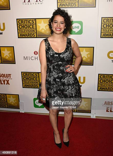 Actress Ilana Glazer attends the 4th Annual Critics' Choice Television Awards at The Beverly Hilton Hotel on June 19 2014 in Beverly Hills California