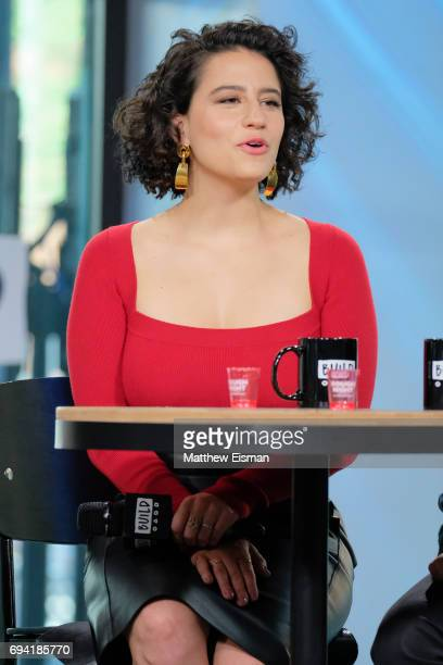 Actress Ilana Glazer discusses the new film 'Rough Night' at Build Studio on June 9, 2017 in New York City.