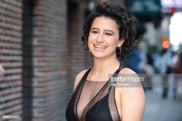 Actress Ilana Glazer enters the 'The Late Show With Stephen Colbert' taping at the Ed Sullivan Theater on June 14 2017 in New York City