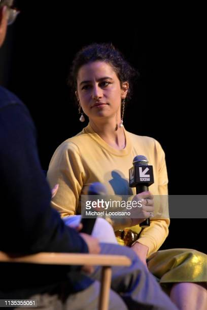 Actress Ilana Glazer takes part in a QA following the premiere of the 'Broad City' series finale at ZACH Theatre on March 10 2019 in Austin Texas