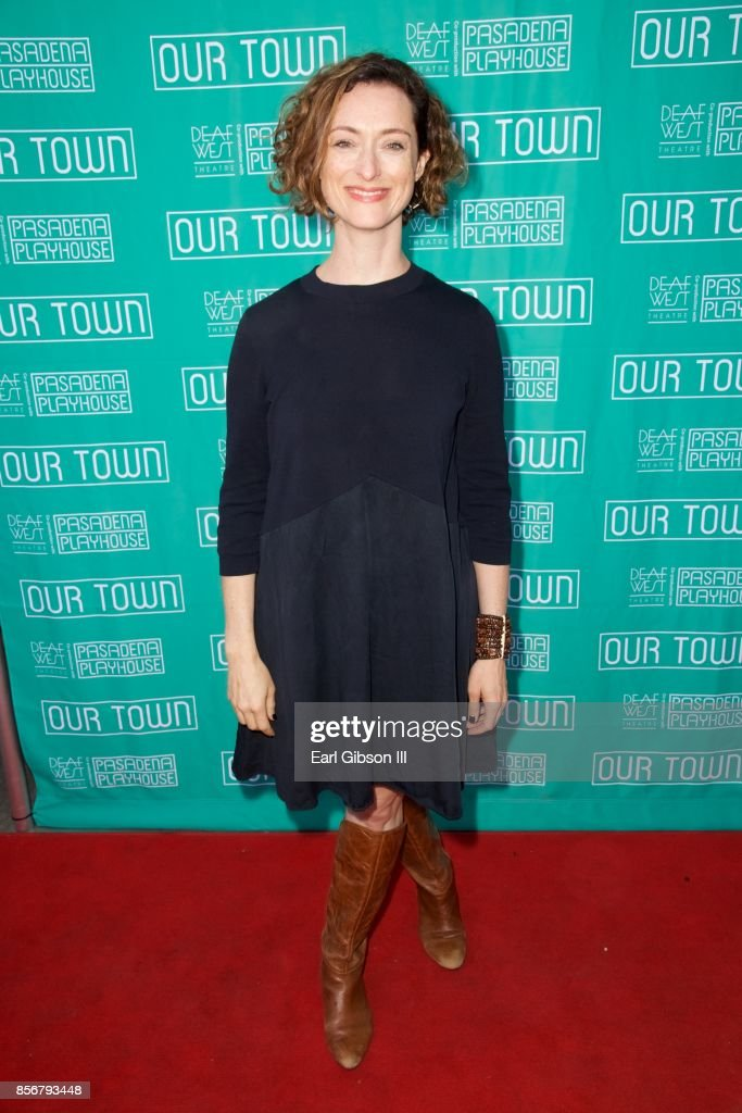Pasadena Playhouse And Deaf West Theatre's 'Our Town' Opening Night : News Photo