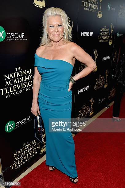 Actress Ilene Kristen attends The 41st Annual Daytime Emmy Awards at The Beverly Hilton Hotel on June 22 2014 in Beverly Hills California