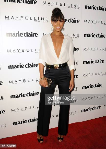 Actress Ilfenesh Hadera attends Marie Claire's Fresh Faces event at Doheny Room on April 21 2017 in West Hollywood California