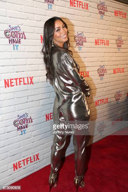 Actress Ilfenesh Hadera attends Netflix Original Series 'She''s Gotta Have It' Premiere and After Party at BAM Rose Center on November 11 2017 in...