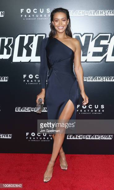 Actress Ilfenesh Hadera attends the 'BlacKkKlansman' New York premiere at Brooklyn Academy of Music on July 30 2018 in New York City