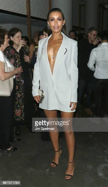 Actress Ilfenesh Hadera attends the screening after party for 'Baywatch' hosted by The Cinema Society at Mr Purple on May 22 2017 in New York City