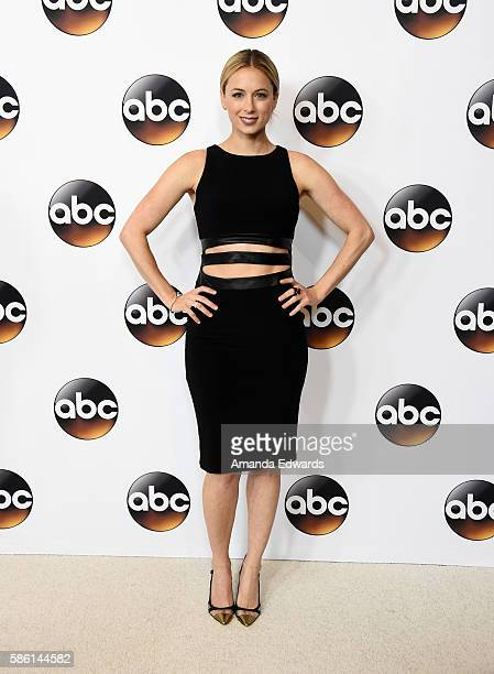 Actress Iliza Shlesinger attends the Disney ABC Television Group TCA Summer Press Tour on August 4 2016 in Beverly Hills California