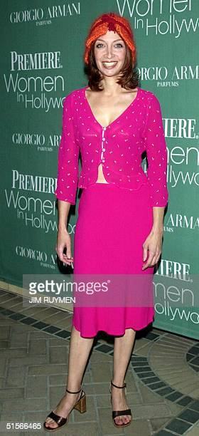 Actress Illeana Douglas arrives 11 October 2000 at Premiere magazine's 7th annual Women in Hollywood luncheon honoring Drew Barrymore Holly Hunter...