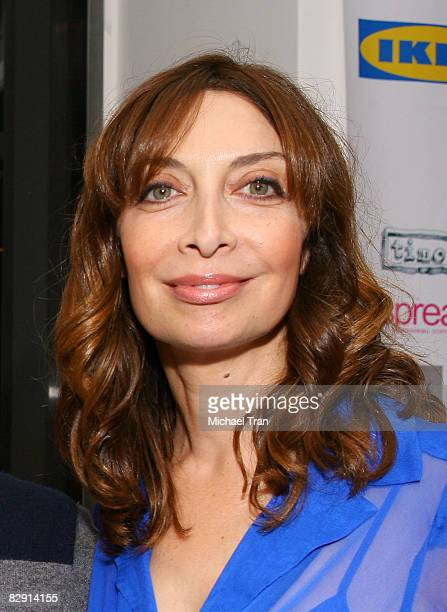 Actress Illeana Douglas arrives to the 'Easy to Assemble' launch party held at the Architecture and Design Museum on September 18 2008 in Los Angeles...