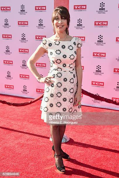 Actress Illeana Douglas attends 'All The President's Premiere' during the TCM Classic Film Festival 2016 Opening Night on April 28 2016 in Los...