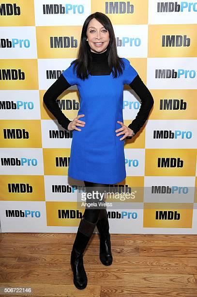 Actress Illeana Douglas in The IMDb Studio In Park City Utah Day Four on January 25 2016 in Park City Utah