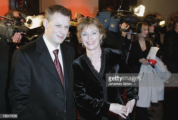 Actress Ilona Gruebel and director Florian Froschmayer arrive for the Bavarian Film Awards 2006 on January 19 2007 in Munich Germany The socalled...