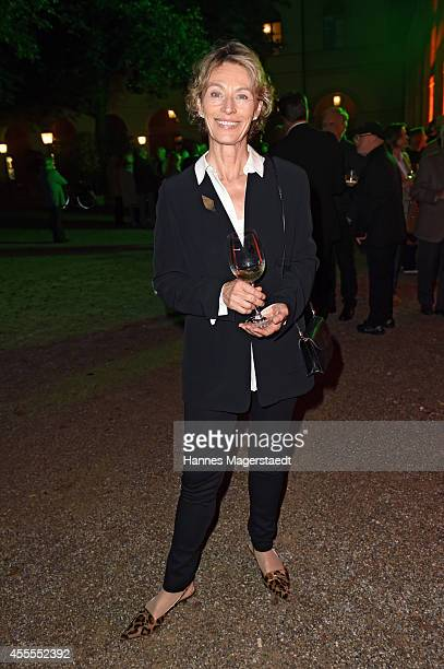 Actress Ilona Gruebel attends the Dorotheum Munich Hosts Cocktail Reception on September 16 2014 in Munich Germany