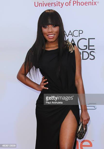 Actress Imani Hakim attends the 46th Annual NAACP Image Awards on February 6 2015 in Pasadena California