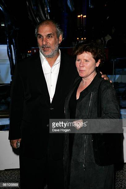 Actress Imelda Staunton and BBC executive Alan Yentob attend the party for the World Premiere of 'Harry Potter And The Goblet Of Fire' at The Natural...