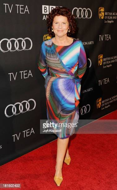 Actress Imelda Staunton arrives at the BAFTA Los Angeles TV Tea 2013 on September 21 2013 in Beverly Hills California