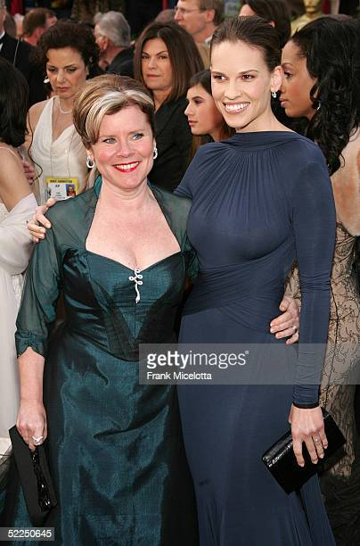Actress Imelda Staunton nominated for Best Actress in a Leading Role for her performance in Vera Drake and Actress Hilary Swank nominated for Best...