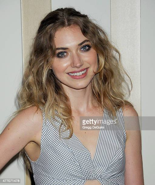 Actress Imogen Poots arrives at the 2015 Los Angeles Film Festival screening of A Country Called Home at Regal Cinemas LA Live on June 13 2015 in Los...