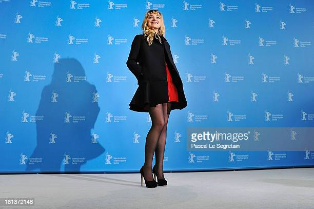 Actress Imogen Poots attends 'The Look Of Love' Photocall during the 63rd Berlinale International Film Festival at Grand Hyatt Hotel on February 10...