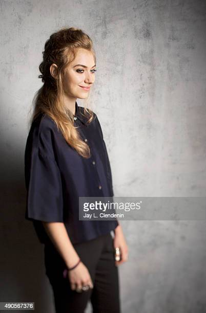 "Actress Imogen Poots, from the movie ""Green Room"" is photographed for Los Angeles Times on September 25, 2015 in Toronto, Ontario. PUBLISHED IMAGE...."