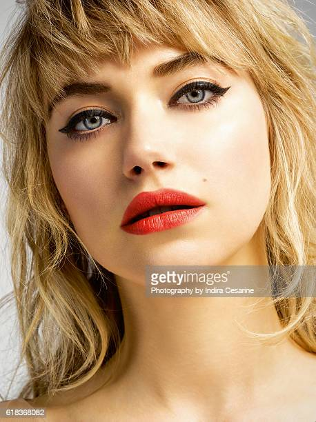 Actress Imogen Poots is photographed for The Untitled Magazine on January 25 2014 in New York City COVER IMAGE CREDIT MUST READ Indira Cesarine/The...