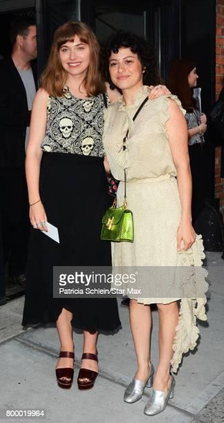 Actress Imogen Poots is seen on June 22 2017 in New York City
