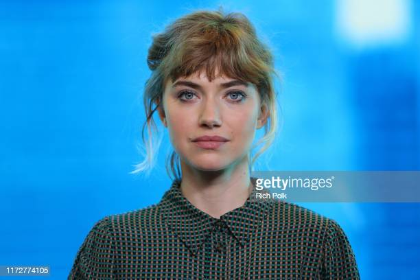 Actress Imogen Poots of 'Castle in the Ground' attends The IMDb Studio Presented By Intuit QuickBooks at Toronto 2019 at Bisha Hotel Residences on...