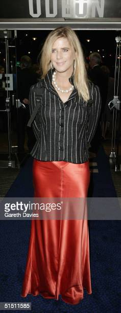 Actress Imogen Stubbs arrives at the opening gala for The Times BFI London Film Festival and the World Premiere of Vera Drake at the Odeon Leicester...