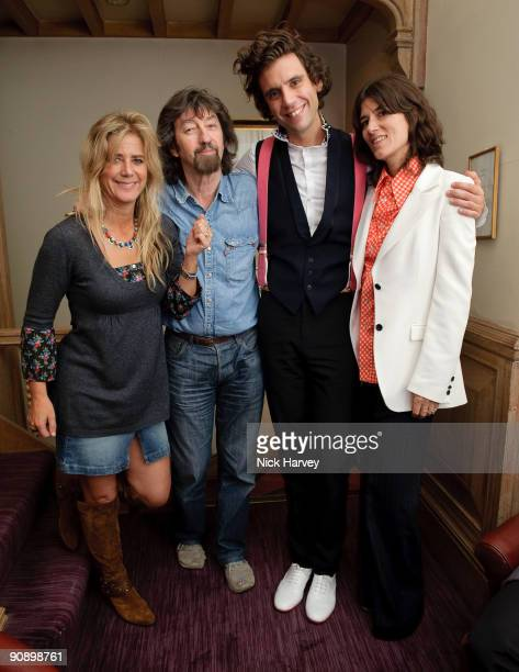 Actress Imogen Stubbs director Trevor Nunn singer Mika and fashion designer Bella Freud attend Mika's album launch party on September 17 2009 in...