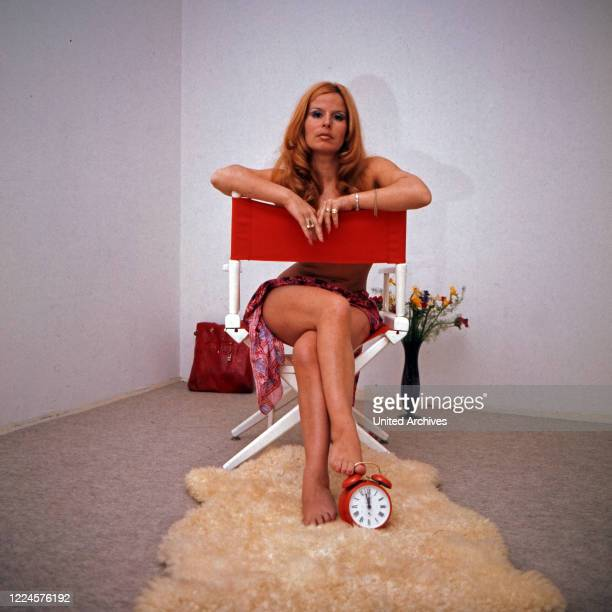Actress Ina Schneider, Germany, 1960s.