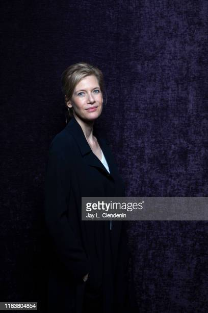 Actress Ina Weisse from 'The Audition' is photographed for Los Angeles Times on September 9, 2019 at the Toronto International Film Festival in...