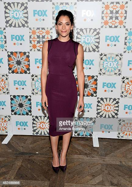 Actress Inbar Lavi arrives at the 2014 Television Critics Association Summer Press Tour FOX AllStar Party at Soho House on July 20 2014 in West...