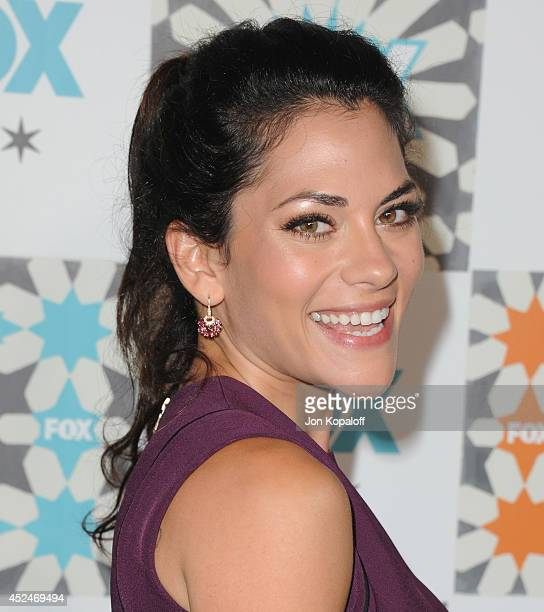 Actress Inbar Lavi arrives at the FOX AllStar Party 2014 Television Critics Association Summer Press Tour at Soho House on July 20 2014 in West...