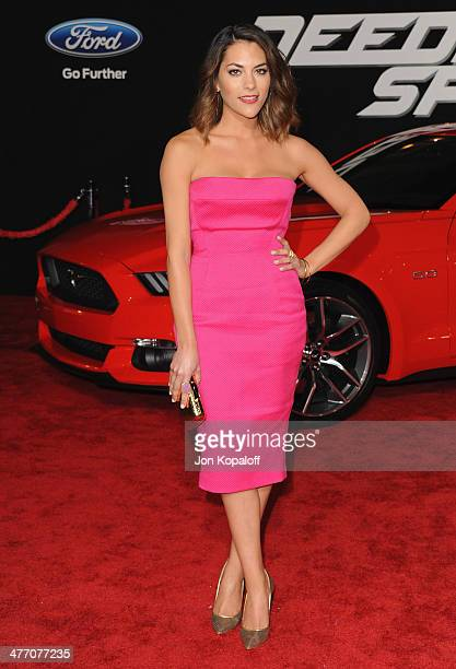 Actress Inbar Lavi arrives at the Los Angeles Premiere 'Need For Speed' at TCL Chinese Theatre on March 6 2014 in Hollywood California