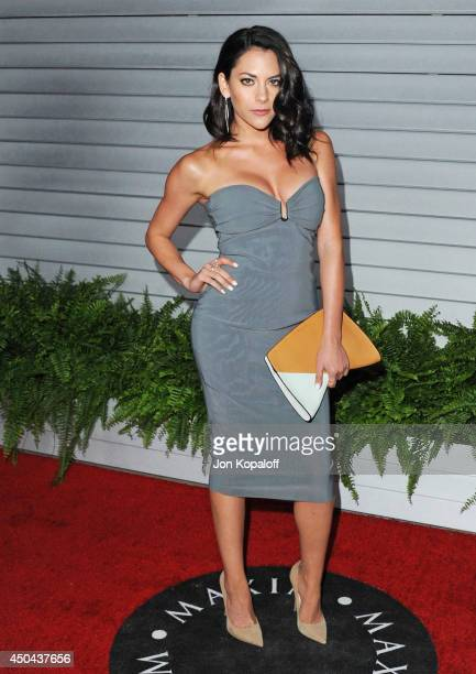Actress Inbar Lavi arrives at the MAXIM Hot 100 Celebration Event at Pacific Design Center on June 10 2014 in West Hollywood California