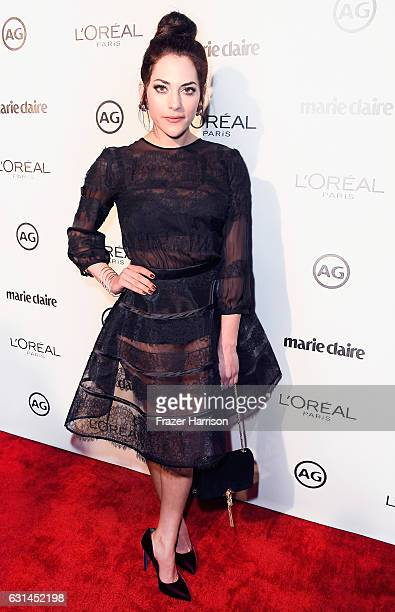 Actress Inbar Lavi attends Marie Claire's Image Maker Awards 2017 at Catch LA on January 10 2017 in West Hollywood California