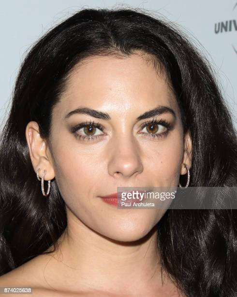 Actress Inbar Lavi attends NBCUniversal's press junket at Beauty Essex on November 13 2017 in Los Angeles California