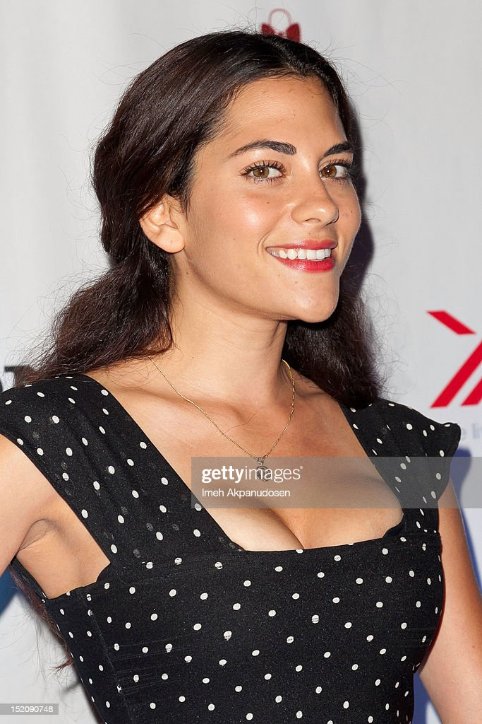 Actress Inbar Lavi attends the NYLON And Sony X Headphones September TV Issue Party at Mr. C Beverly Hills on September 15, 2012 in Beverly Hills, California.